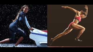Тренировки Лолы Джонс (бобслей, бег с барьерами) / Training Jones (Bobsleigh,Hurdling)