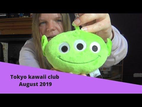 Tokyo kawaii club unboxing August 2019