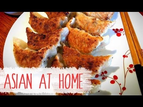 Pork Dumpling Recipe : Gogi Mandu (Gyoza, Pot Sticker) : Asian at Home