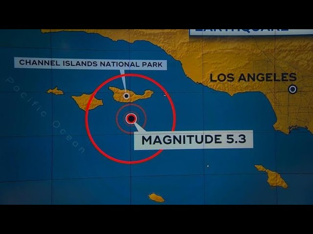 Southern California hit with 5.3 magnitude earthquake
