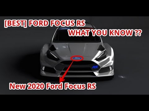 [BEST] New 2020 Ford Focus RS