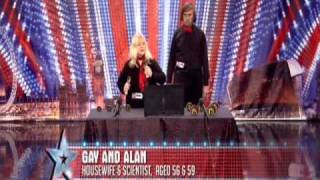 Gay and Alan Bell Ringers Britains Got Talent 2011 HD