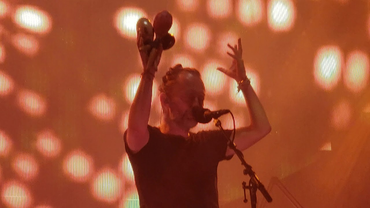 Radiohead Lotus Flower Live At Madison Square Garden In Nyc July