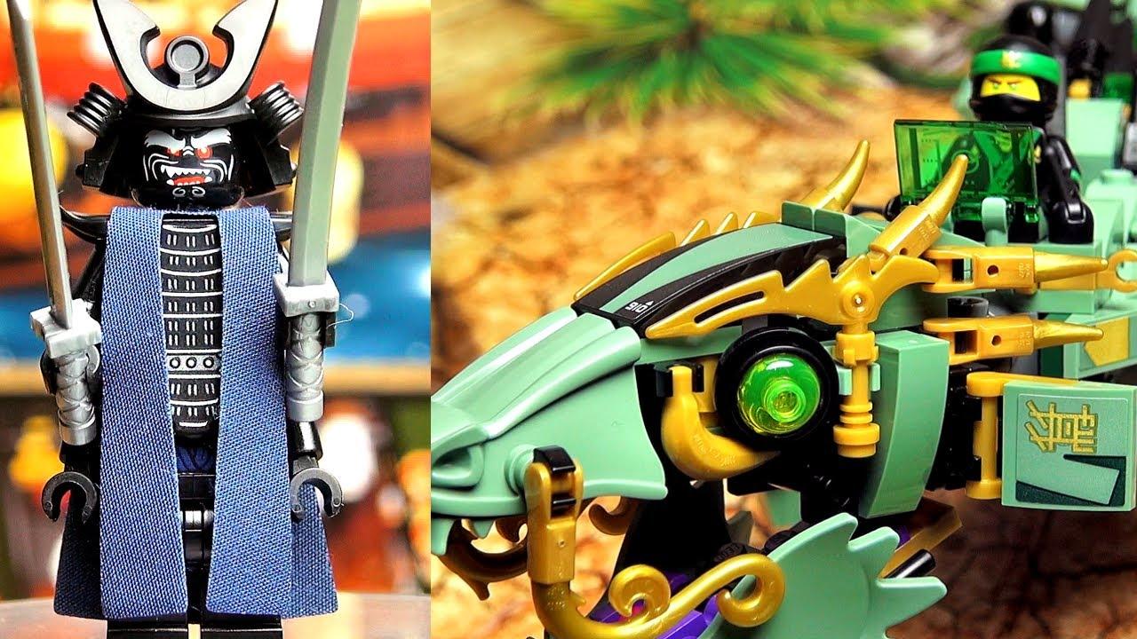 LEGO Ninjago Movie 2018 Спиннер Ллойд Мастер Кружитцу Обзор .