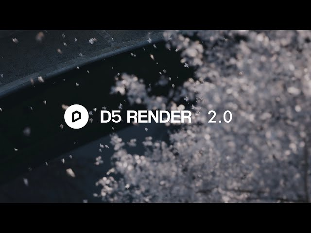 D5 Render 2.0 NOW Available|New UI, Weather System, Path Tool, 3D Grass Material, Enriched Assets
