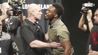 Watch as Jones and Cormier are pulled apart: UFC Summer Kickoff Face Off Highlights