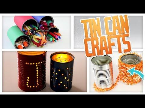DIY Tin Can Crafts: Lanterns & Organizers! - Do It, Gurl