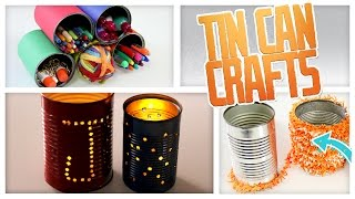 Tin Can Lanterns & Desk Organizer - Do It, Gurl