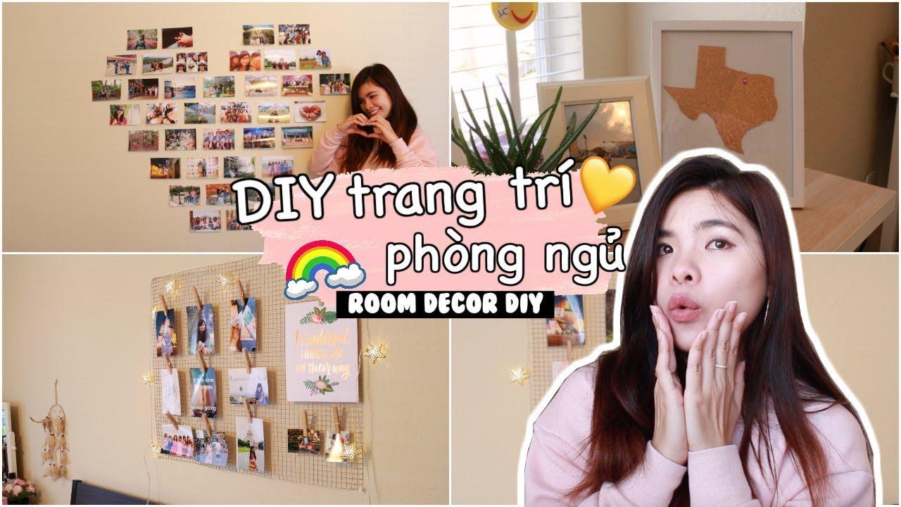 LÀM ĐỒ TRANG TRÍ PHÒNG ĐÓN HÈ ♡ – EASY ROOM DECOR DIY // BÓNG BAY