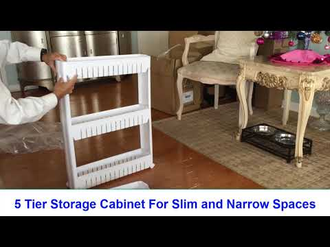 How to Make Use of Narrow, Small, Slim and Wasted Spaces at Home, Office, Garage,...Anywhere