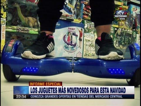 Los Juguetes más Novedosos para esta Navidad 2016 (ATV+ Noticias) Lima Perú