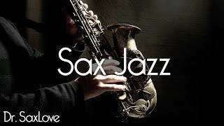 Sax Jazz • 2 Hours Smooth Jazz Saxophone Instrumental Music for Relaxing and Study
