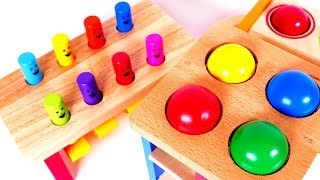Learn Colors with Fun Learning Pounding Table Toys for Kids