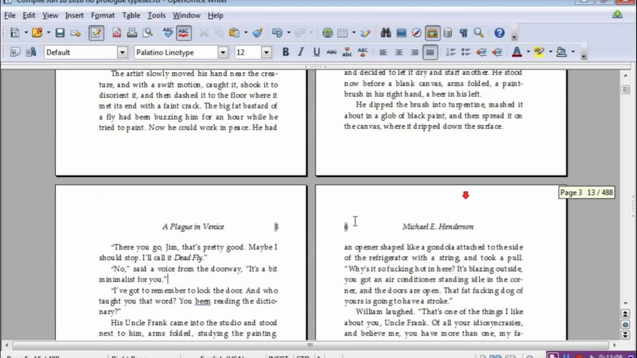 Headers or footers in openoffice suppressing different - Signe different open office ...