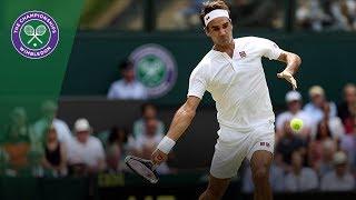 Roger Federer books quarter final place | Wimbledon 2018
