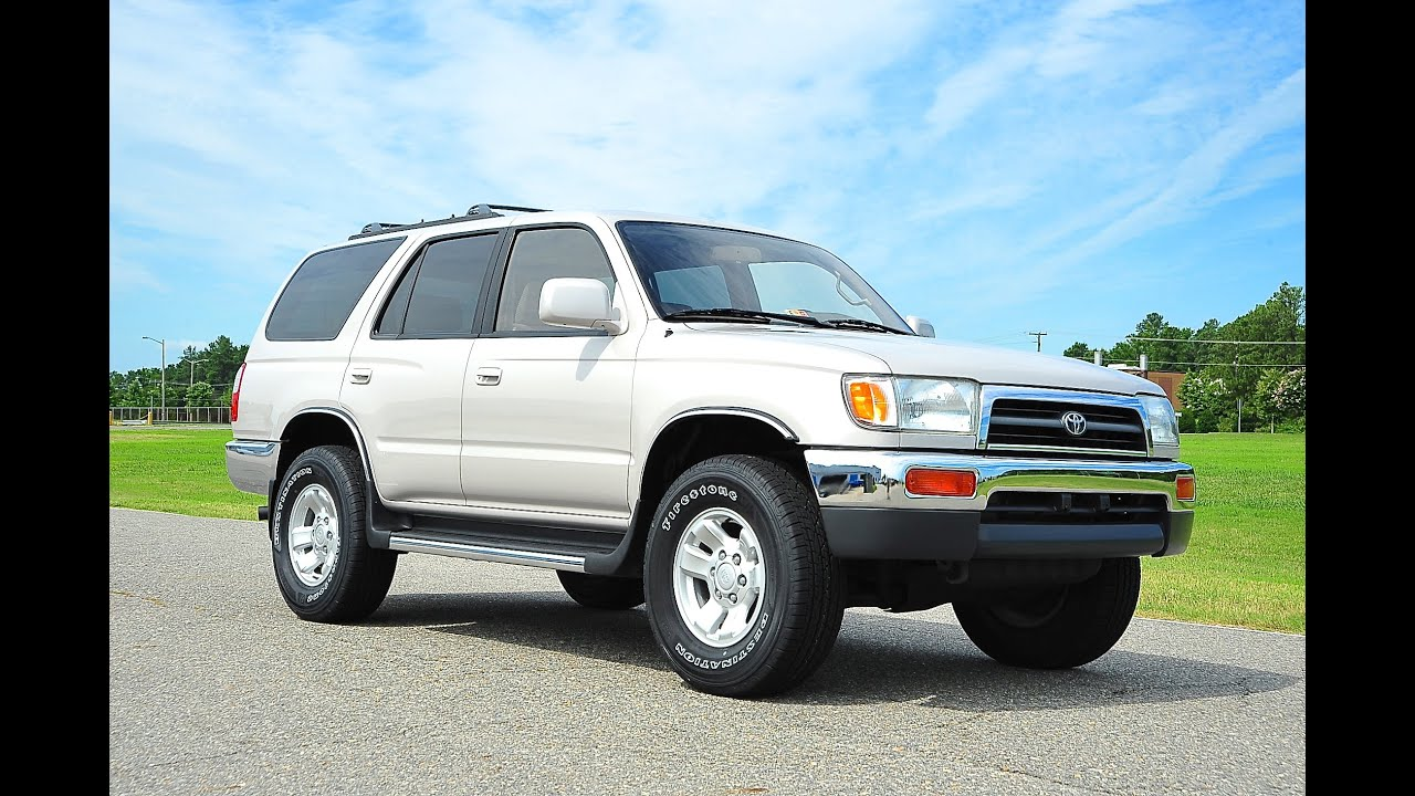 Toyota Forerunner For Sale >> Davis AutoSports 1998 Toyota 4Runner For Sale / 94k / Mint Condition / 10 out of 10 - YouTube