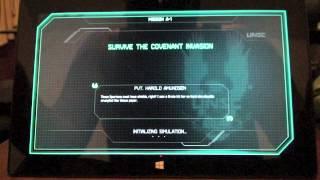 Halo: Spartan Assault On Surface RT gameplay.