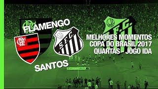 Video Gol Pertandingan Flamengo vs Santos FC