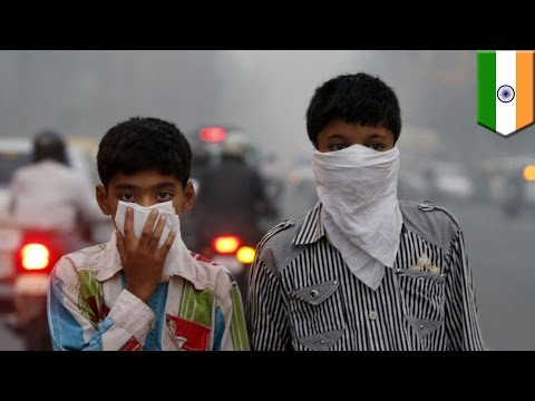 Old jet engines may be used to blast smog out of polluted New Delhi air - TomoNews