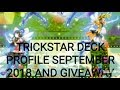 Yu-Gi-Oh! TRICKSTAR DECK PROFILE AND GIVEAWAY