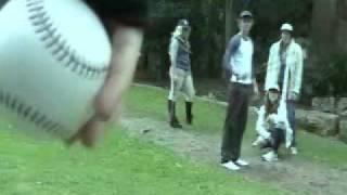 BADEGGS   Twilight Baseball Scene Re-enactment