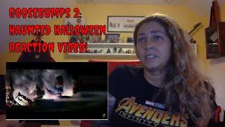 Goosebumps 2: Haunted Halloween Official Trailer REACTION VIDEO!