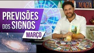 Horóscopo para MARÇO - Previsões dos Signos e Astral do Mês