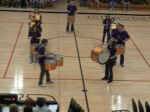 Sheboygan Falls High School Drumline 3/18/10 Preformance