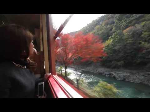 Arashiyama Romantic Train Kyoto