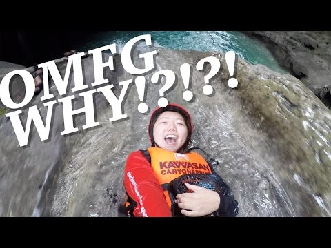 CANYONEERING CEBU! Adventure Travel Philippines