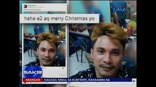 Suspek sa rape at pananaksak, nag-selfie pa nang nasa likuran ang mga pulis