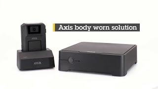 AXIS W700 vidéo