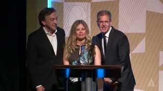 Jennifer Lee, Chris Buck & Peter Del Vecho Present Animation Winners: 2014 Student Academy Awards