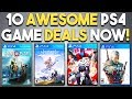 10 AWESOME PlayStation 4 Game Deals RIGHT NOW! (PSN SALE Attack of the Blockbuster)