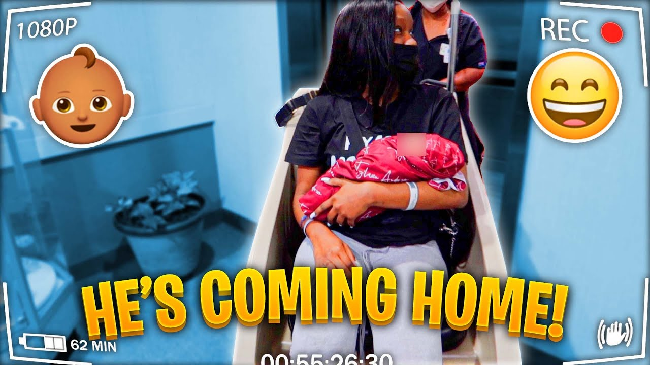 TAKING BABY TY'LANN HOME FOR THE FIRST TIME!!!
