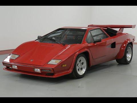 1990 Lamborghini Countach Youtube