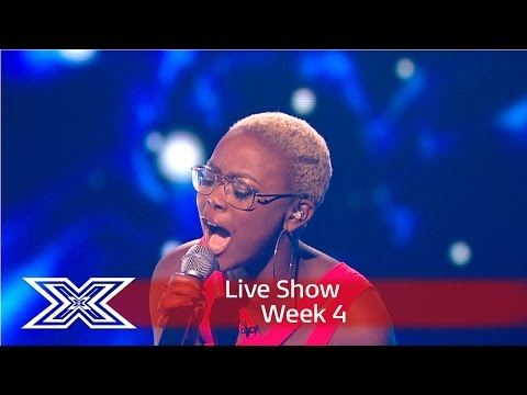 Gifty fights for her place with A Song For You | Results Show | The X Factor UK 2016