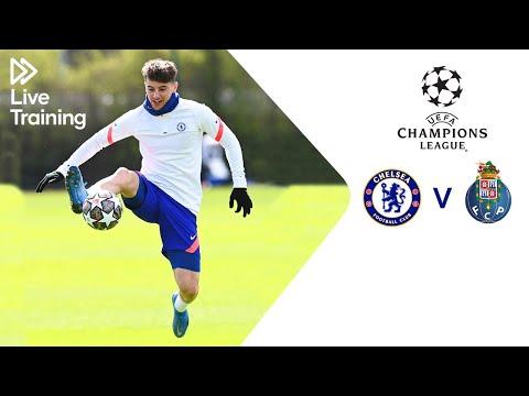 Chelsea Live Training | Chelsea v FC Porto | UEFA Champions League