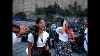 """Son y Fandango mariachi tradicional de tarima """"la media calandria"""""""