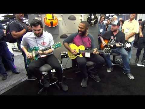 Funk Jam w/ Josh Smith, Kirk Fletcher and Ariel Posen at NAMM 2018