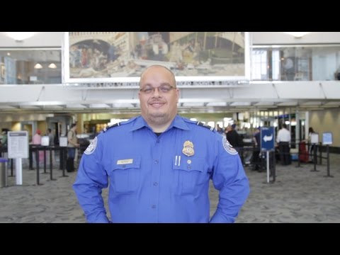 The Faces of TSA: Lead Transportation Security Officer Herminio Rodriguez