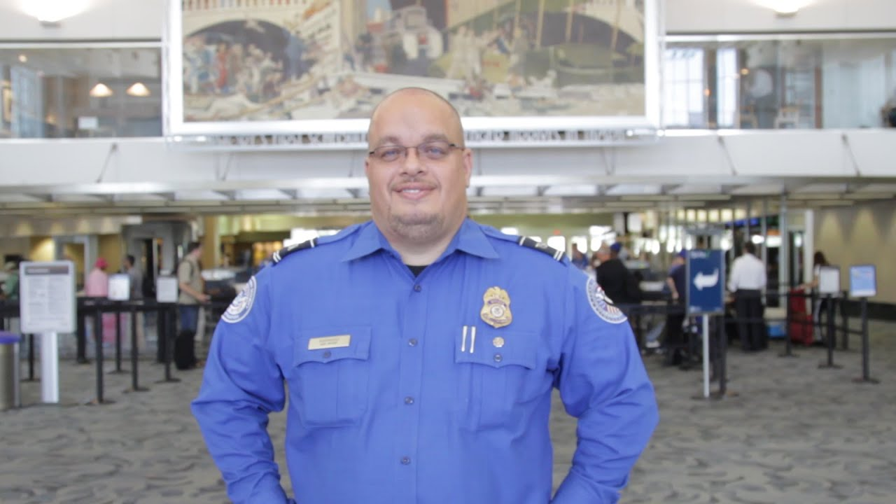the faces of tsa lead transportation security officer