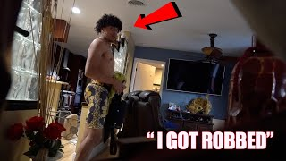 We Broke Into Your House... PRANK! *Cops Arrived*