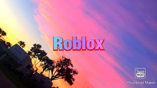 I love playing Roblox