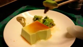 asmr watch me eating avocado tofu