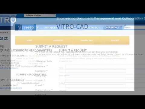 Vitro CAD Live Demo