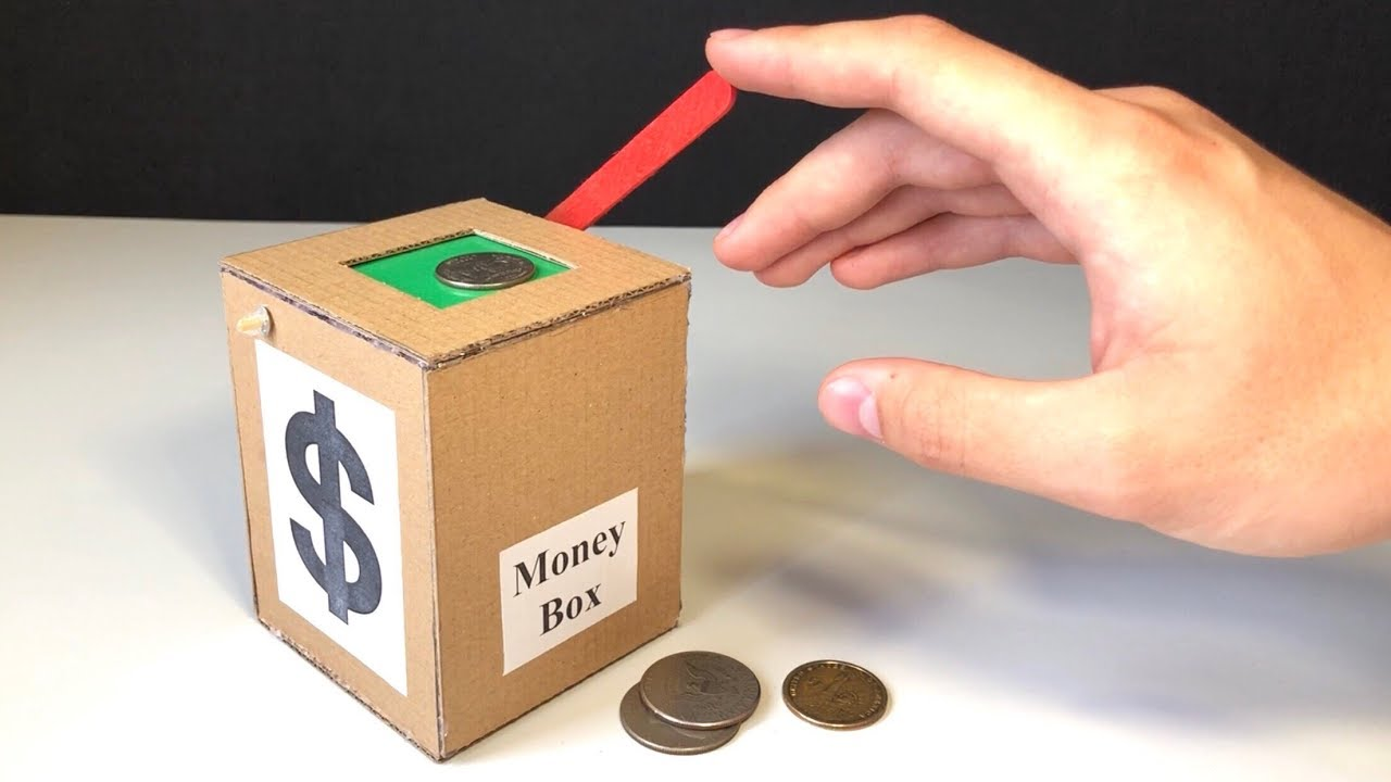 Make a box for the money for the wedding with their own hands 10