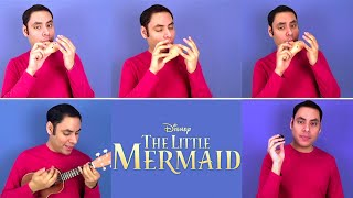 Under the Sea - The Little Mermaid - Ocarina || Music Song Cover by David Erick Ramos