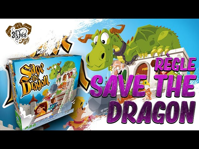 Règle Save the dragon - Vraiment un jeu enfant ? 😅😁 - Blue orange