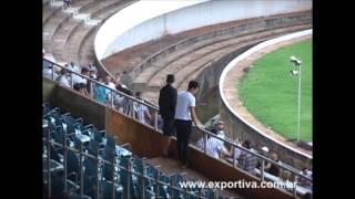 Briga no Estádio Morenão em Campo Grande jogo entre Operário x Ubiratan 2013